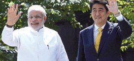 Modi and Shinzo Abe to talk of 'strong future' today