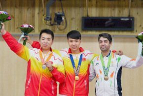 Abhinav Bindra signs off with bronze double