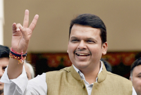 Sena to boycott Fadnavis's swearing-in ceremony