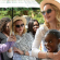 Madonna returns to Malawi orphanage with her adopted daughter