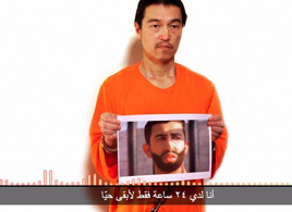 IS threatens to kill Japan hostage, Jordan pilot within 24 hours