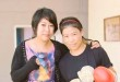 Fashion Artist Cynthia Kolakhe with Mary Kom