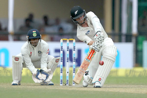 New Zealand 93 for four at stumps on Day Four