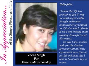 For Zeena Singh Color