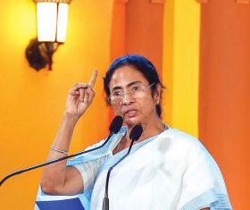 Mamata says 72 killed in cyclone, urges PM to visit state