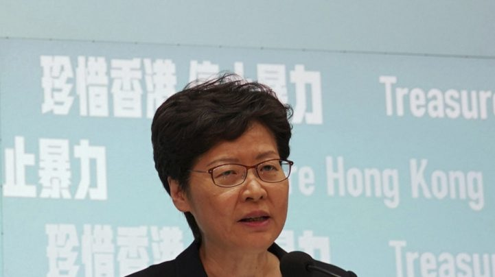 Hong Kong leader says security law not a threat to freedoms