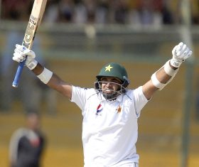 Abid Ali hits Test tons in a row