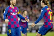 Barça rout Alaves 4-1 in final match of 2019