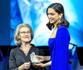 Deepika Padukone feted with global honour for awareness drive