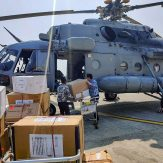 IAF airlifts medical supplies from Bagdogra to Gangtok