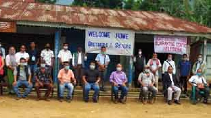 Quarantine centres inaugurated in Ahthibung town