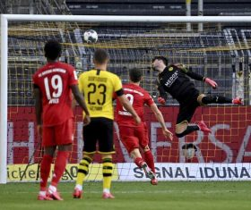 Bayern beat Dortmund 1-0 to extend lead in Bundesliga