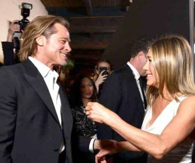 Brad-Aniston 'back in love'