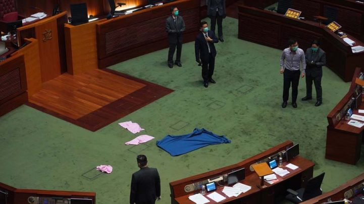 China's parliament overwhelmingly approves controversial Hong Kong security bill