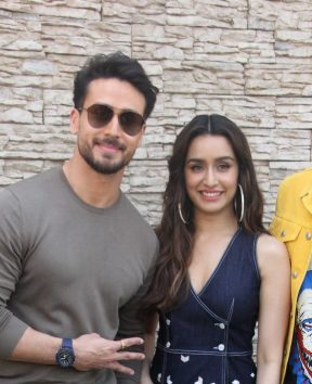 Promotion of movie Baaghi 3