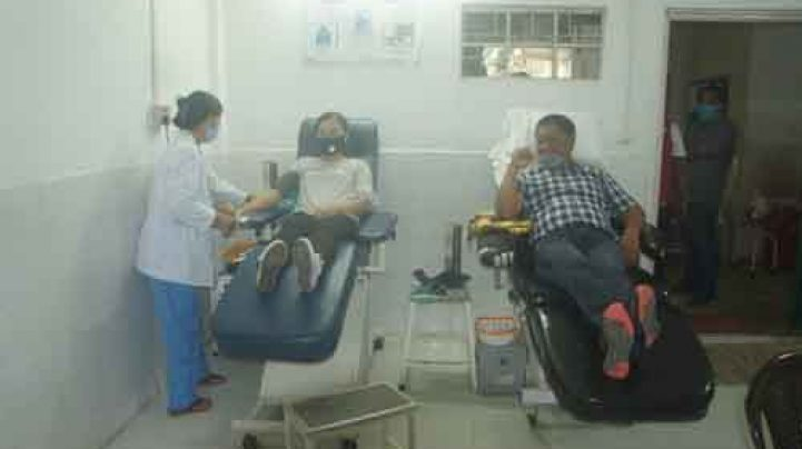 MTLST conducts blood donation camp