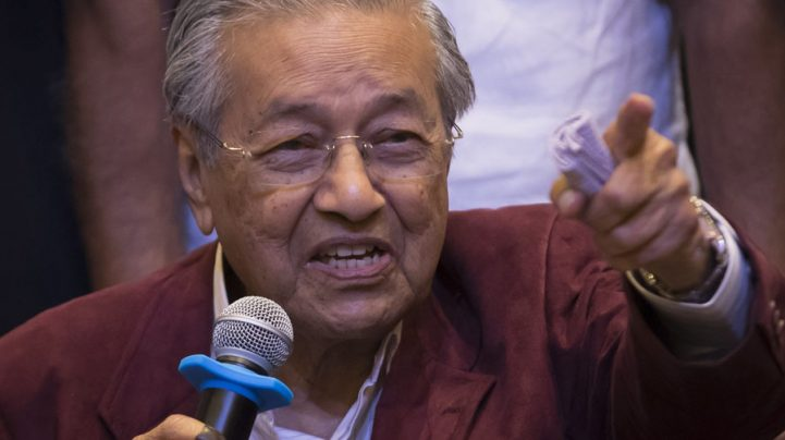Former-Malaysian PM sacked from own party