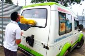 Mobile van for collection of Covid-19 samples launched in Mon