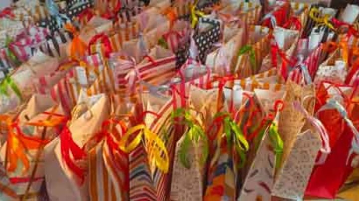 Gift hampers await stranded people of Mokokchung in Nagaland