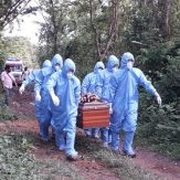 Mortal remains of Naga woman laid to rest