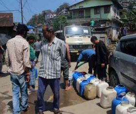 Phed provides free water in Mokokchung