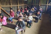 Nehemiah Vision sets up shelter and food camp for students