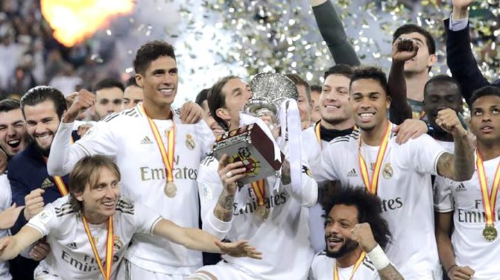 Real beat Atletico on penalties in Super Cup final
