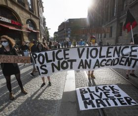 Trump threatens to use military to quell violent protests across US