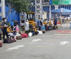 Passengers of Chennai train react to news of Covid-19 cases