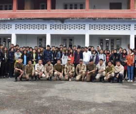 Sao Chang College students taught on fire risk management