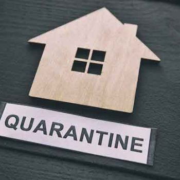 Two families put under home quarantine