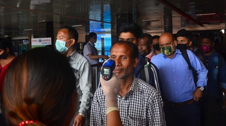 States should ensure screening at airport, railway exits — Health ministry